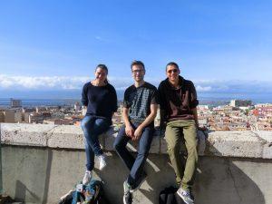 Neues Crewfoto vor Cagliari